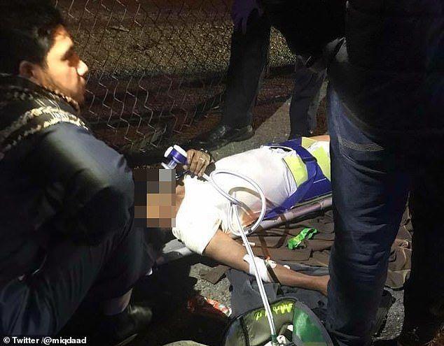 ثلاثة جرحى بحادثة دهس أمام مسجد في لندن
