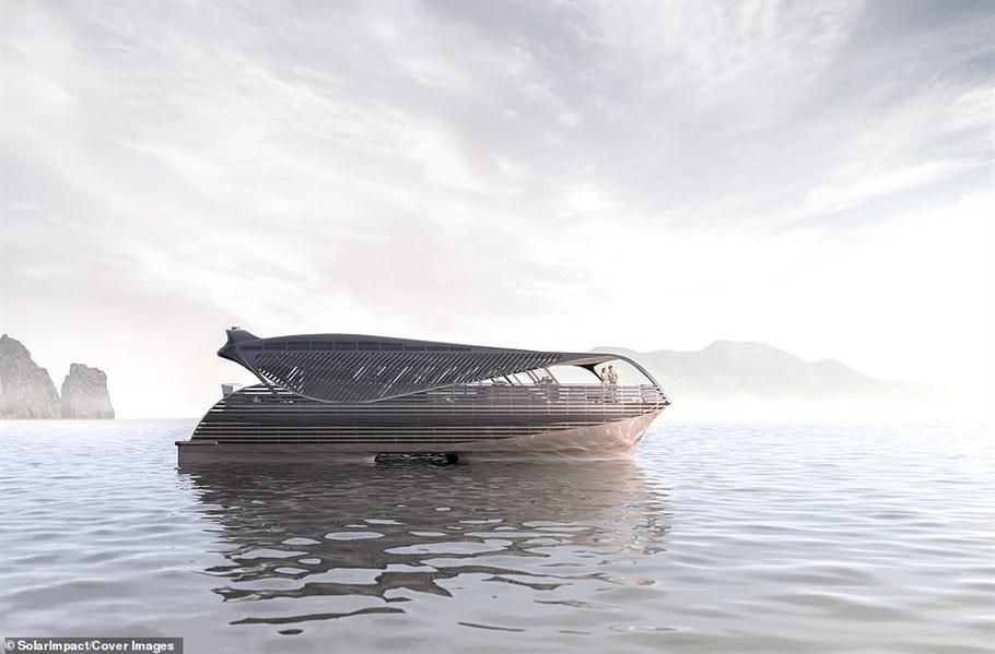بالصور: يخت فاخر بالطاقة الشمسية يمكنه الإبحار حول العالم دون توقف