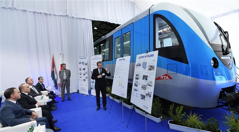 طرق دبي: أول قطارات المترو الجديدة تصل نوفمبر المقبل