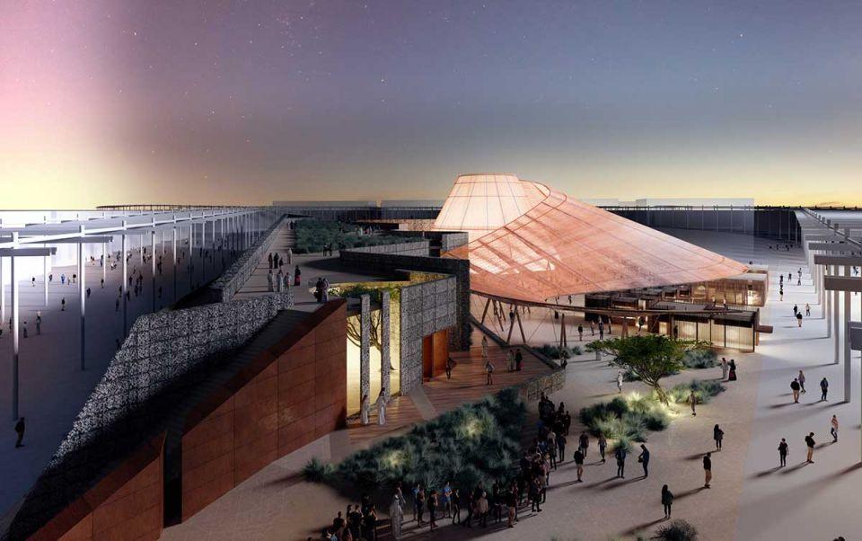 إكسبو 2020 دبي يكشف عن «جناح الفرص» المشيد بمواد قابلة للتدوير