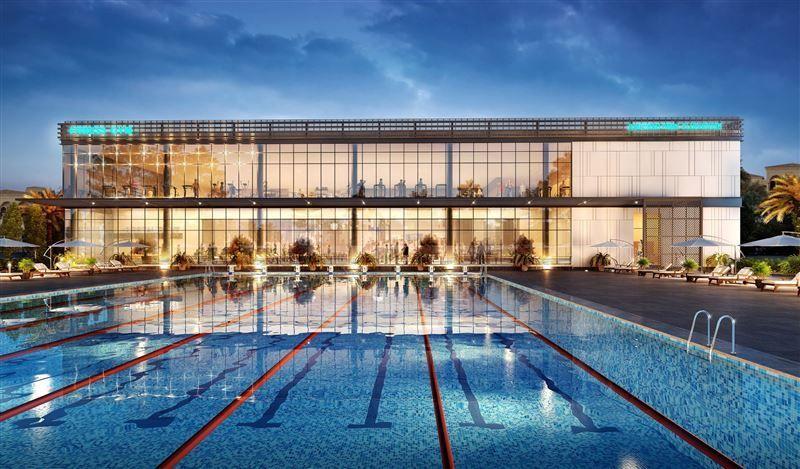 نخيل ترسي عقد بناء لمركز مخصص للصحة والرياضة في جميرا بارك بدبي
