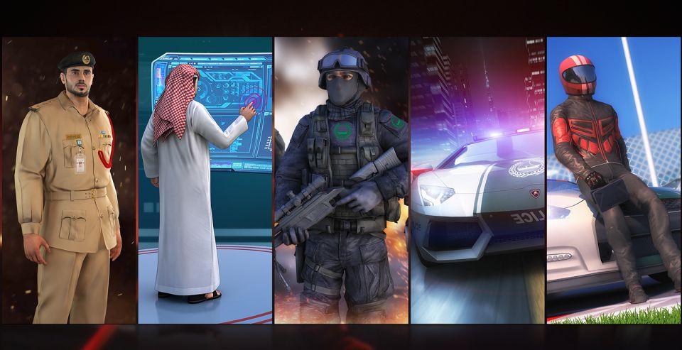 25 مليون شخص حمّلوا ألعاب التكنولوجيا الافتراضية الخاص بشرطة دبي