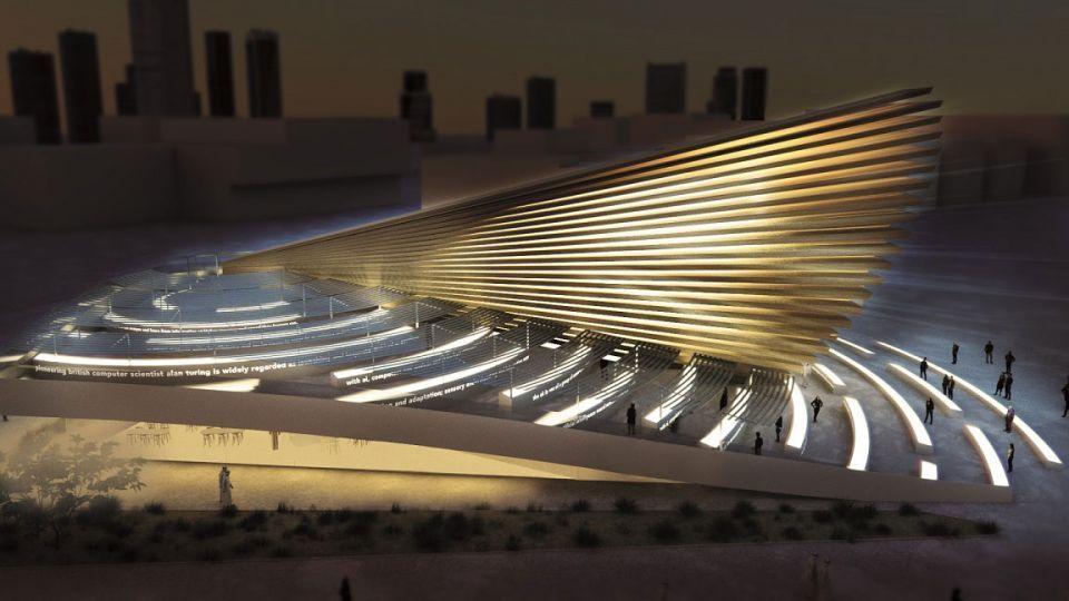 شاهد تصميم لمسات التكنولوجيا والشِعر في جناح في إكسبو 2020 دبي