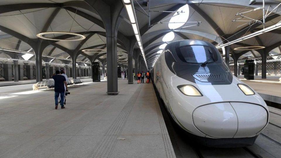 الرياض: سعودة جميع مهن مشروع قطار الحرمين السريع