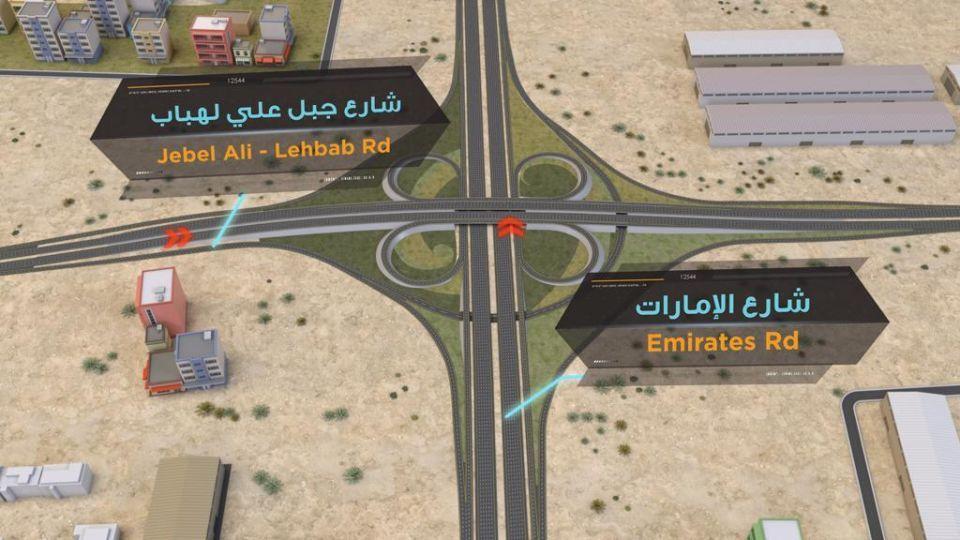 630 مليون درهم تكلفة المرحلتين 5 و6 بمشروع طرق إكسبو دبي 2020