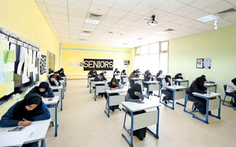 التربية الإماراتية: بدء امتحانات الفصل الدراسي الأول 4 ديسمبر