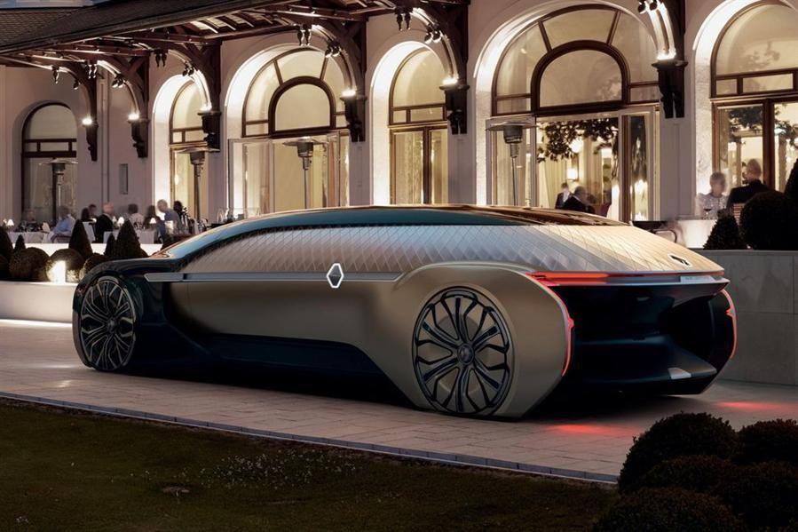 بالصور: مفهوم جديد من رينو عن سيارات المستقبل
