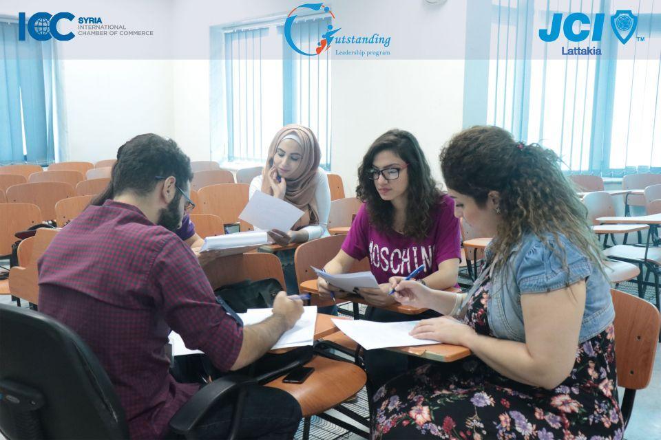 الغرفة الفتية الدولية تحتل الريادة في تطوير مهارات الشباب السوريين الفاعلين