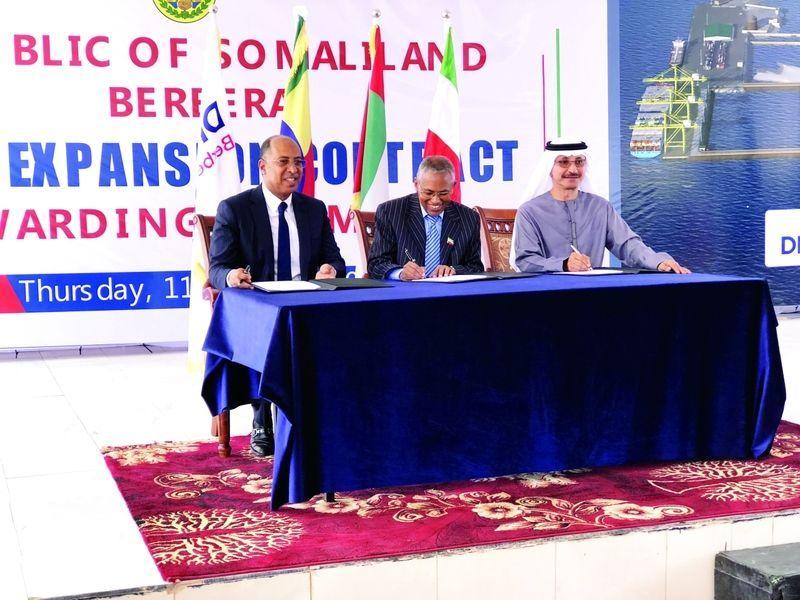 موانئ دبي تدشن أولى مراحل تطوير ميناء بربرة في جمهورية أرض الصومال