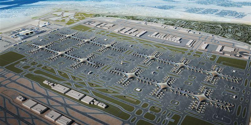 دبي تطلق مناقصة لأكبر عقد ذو قيمة مستقلة لمطار آل مكتوم الدولي