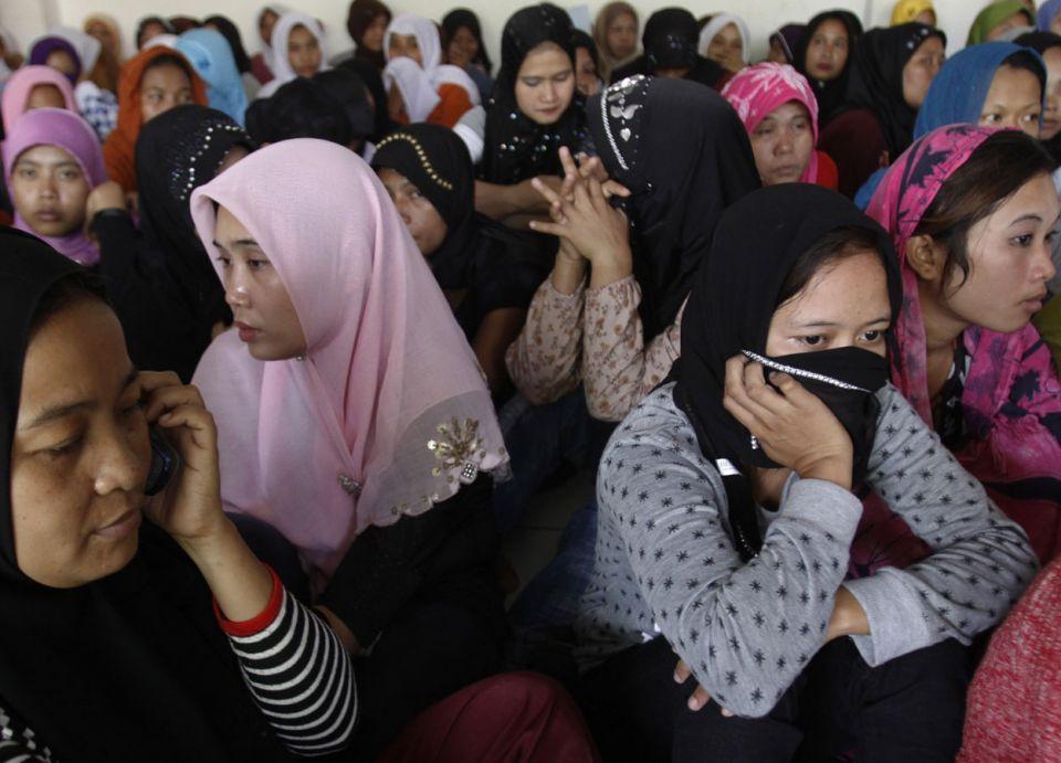 السعودية: استقدام 8 آلاف عاملة إندونيسية كدفعة أولى