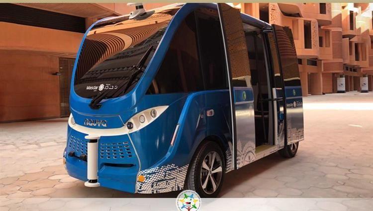 بالفيديو.. مدينة مصدر أبوظبي تعتمد أول سيارة ذاتية القيادة