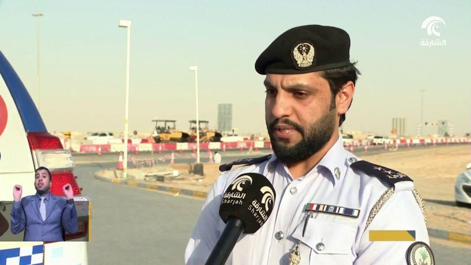 حادث في دبي يتسبب بتوقف حركة السير في شوارع الشارقة 3 ساعات