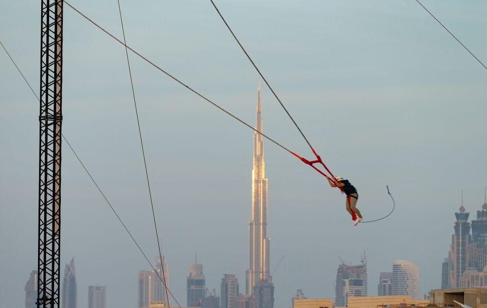 إكس دبي تطلق XDubai Slingshot أحدث مبادراتها المميزة المخصصة لعشاق التحدي