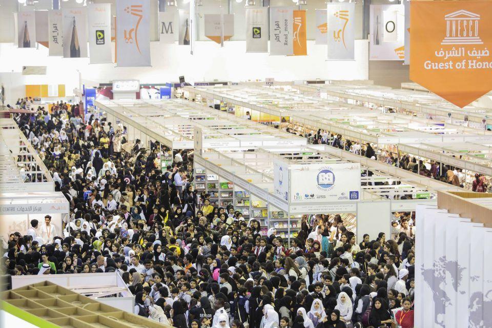 سلطان القاسمي يفتتح غداً (الأربعاء) الدورة الـ 37 من معرض الشارقة الدولي للكتاب