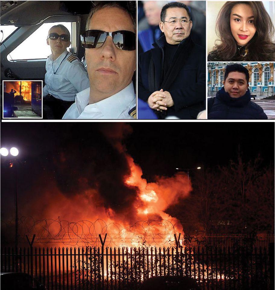 مقتل الملياردير فيكاي مالك نادي ليستر سيتي و4 آخرين بتحطم مروحية