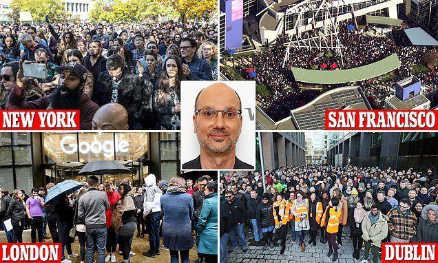 إضرابات في مكاتب غوغل حول العالم احتجاجا على التحرش الجنسي