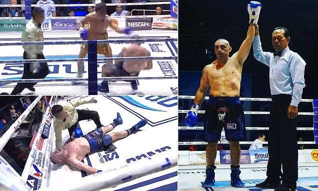 مقتل داغيو بطل الملاكمة الإيطالي بالضربة القاضية في الحلبة
