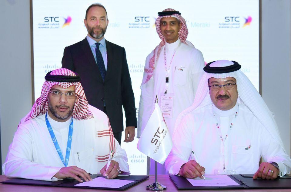 الاتصالات السعودية حلول وسيسكو ميراكي تسرعان التحول الرقمي للشركات السعودية