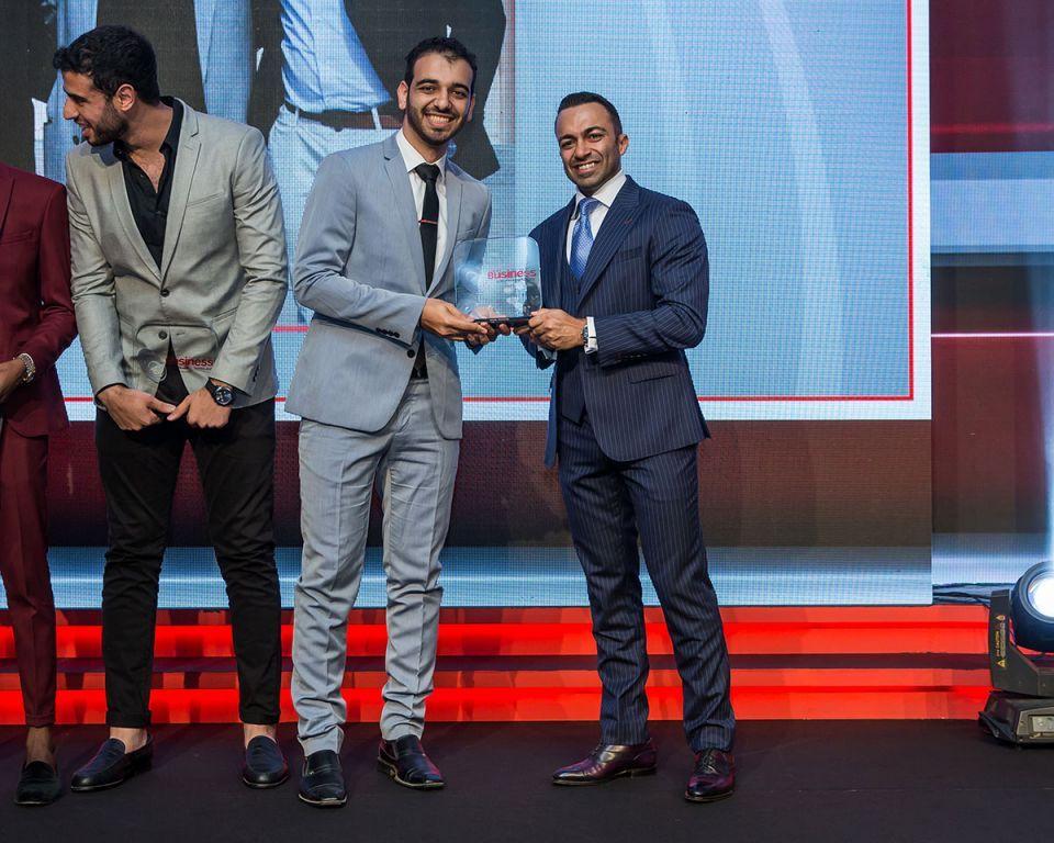 بالصور: جوائز نجوم المستقبل من أريبيان بزنس