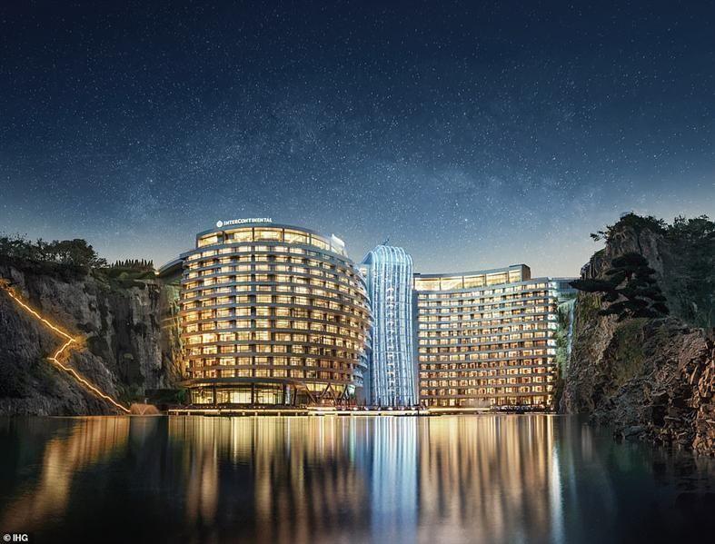 بالصور : الصين تفتتح أول فندق تحت الأرض في العالم