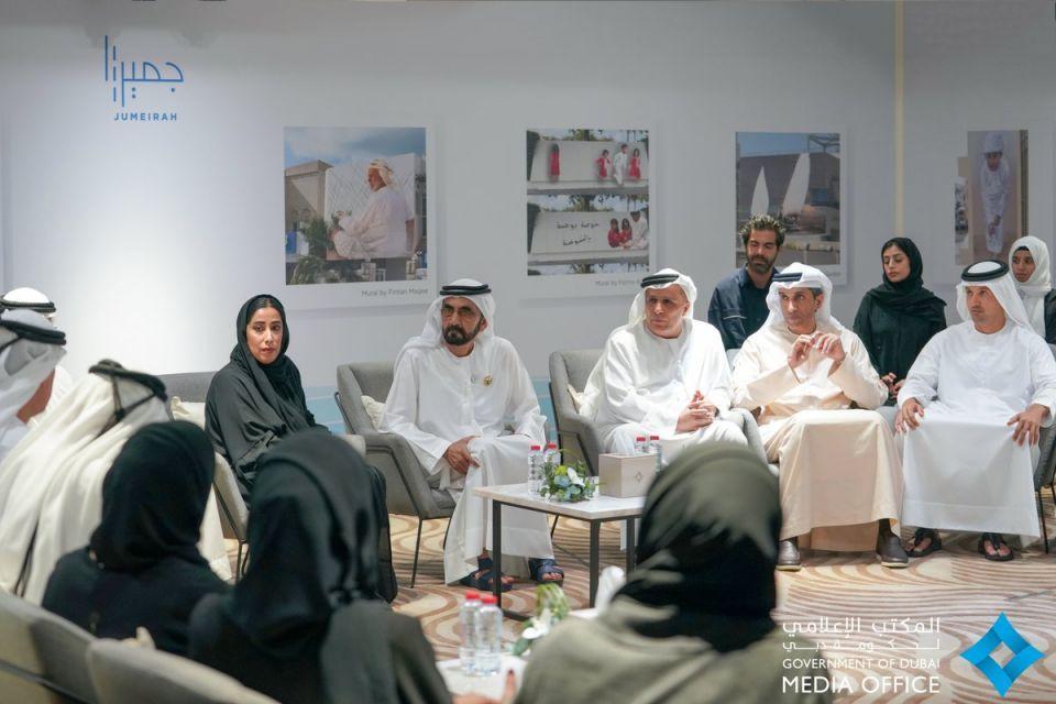 محمد بن راشد يطلق مشروع جميرا