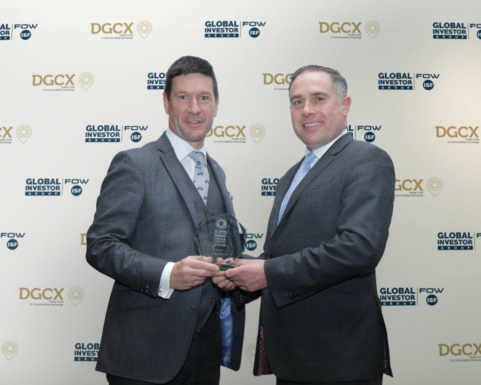 دبي للذهب والسلع  تفوز بجائزة أفضل بورصة لعام 2018