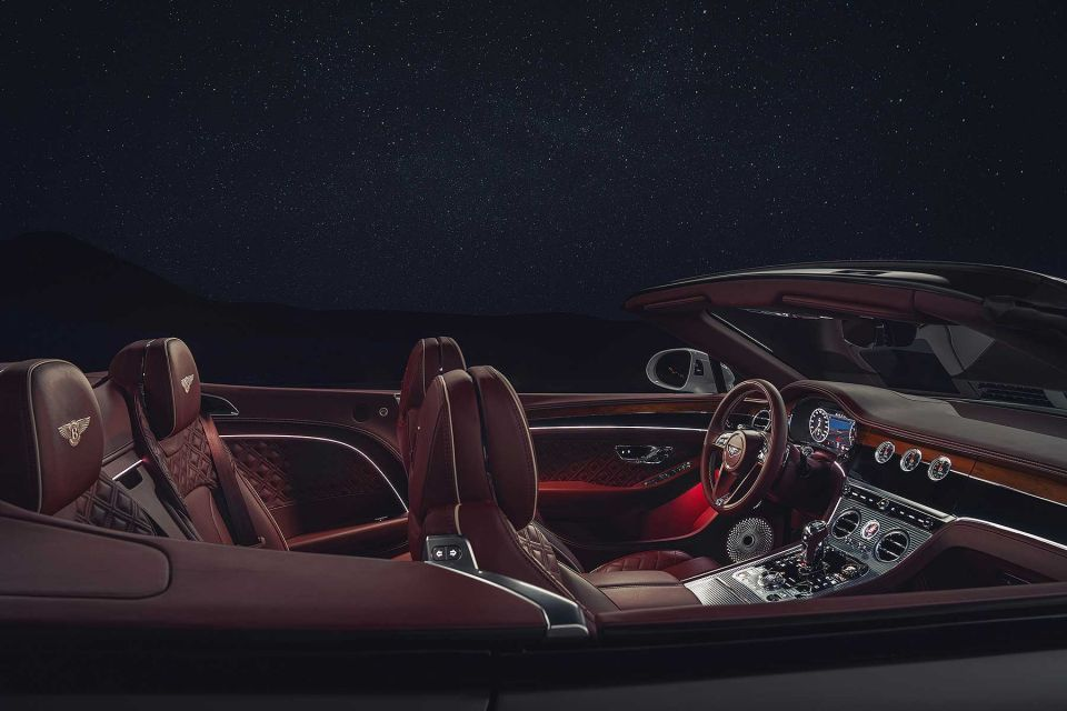 بالصور: بنتلي تطرح قمة السيارات الفاخرة المكشوفة في العالم