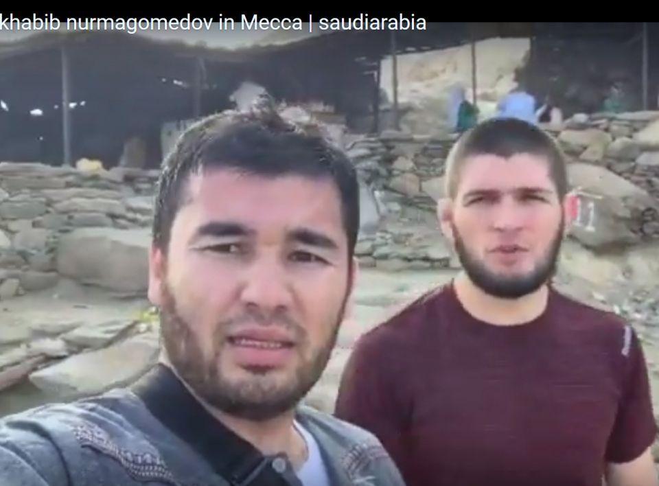 شاهد حبيب نورمحمدوف في مكة المكرمة