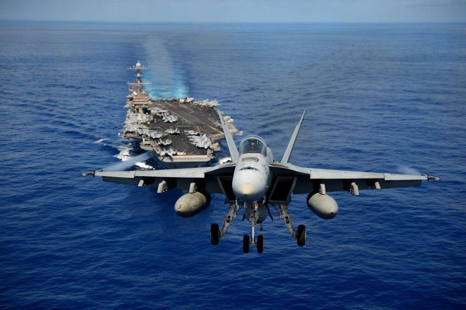 حاملة طائرات أمريكية تصل الخليج لأول مرة بعد غياب