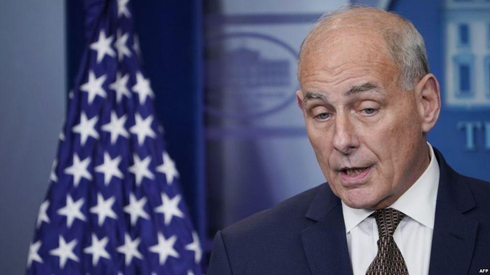 جون كيلي كبير موظفي البيت الأبيض يستقيل خلال أيام