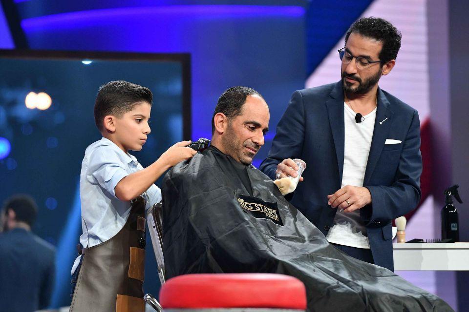 بالصور : مخترعة سعودية في «نجوم صغار» و العديد من المواهب مع أحمد حلمي