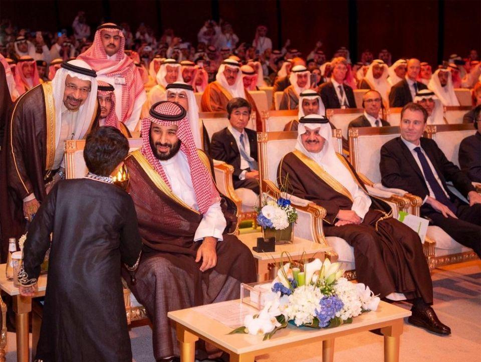 ولي العهد السعودي يدشن مدينة الملك سلمان للطاقة (سبارك)