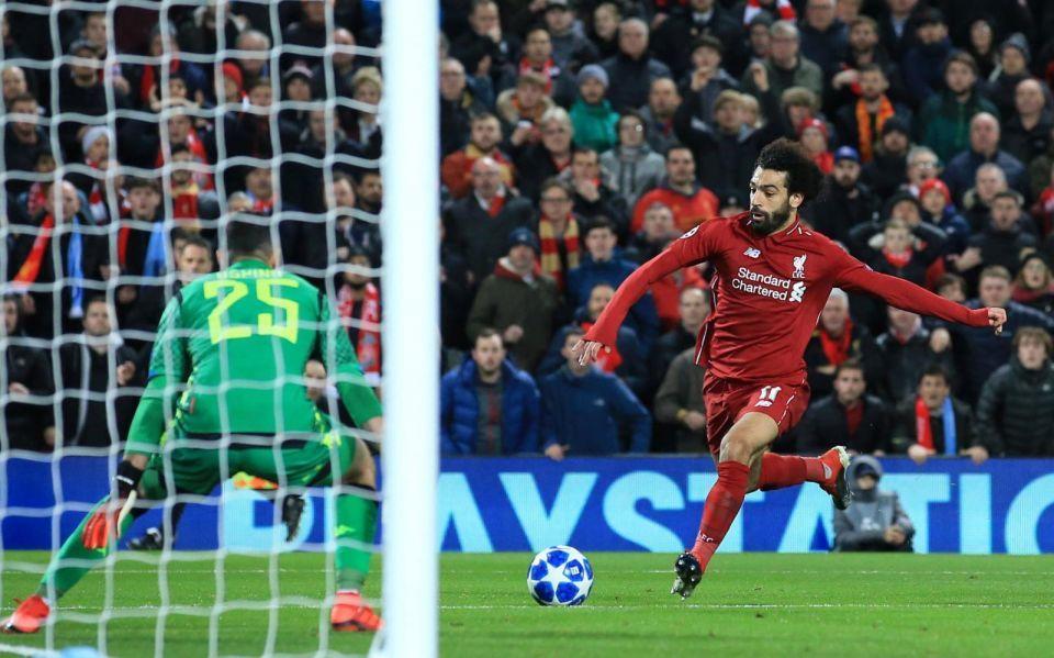 محمد صلاح يقود ليفربول إلى دور الستة عشر بدوري أبطال أوروبا