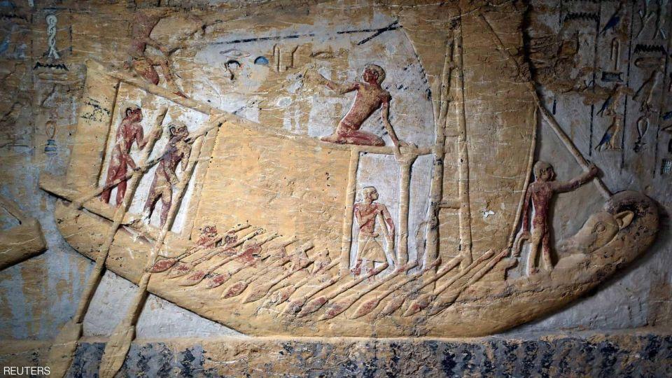 بالصور : جولة داخل مقبرة واح تي آخر اكتشاف أثري في عام 2018