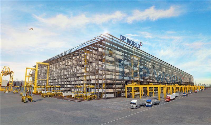 موانىء دبي تكشف عن أول نظام تخزين لحاويات الشحن متعدد الطوابق