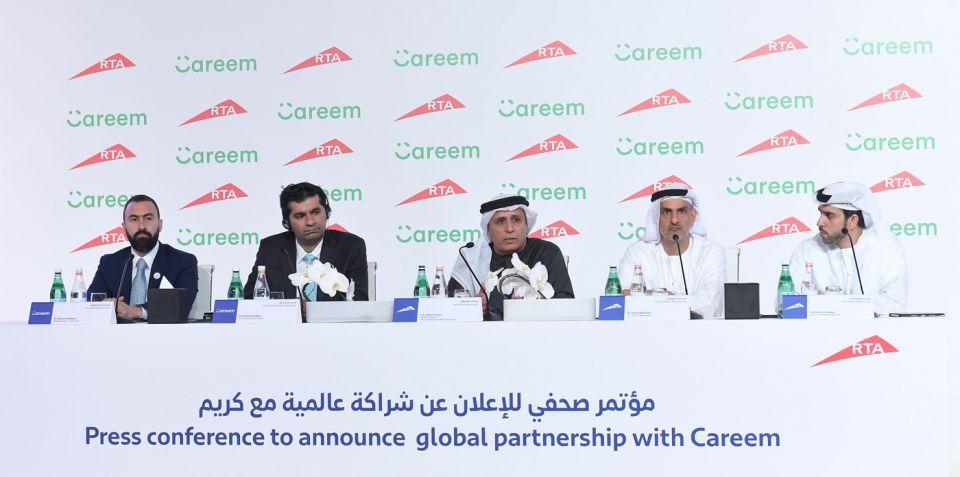 تأسيس شركة جديدة  للحجز الإلكتروني لسيارات الأجرة بالتعاون بين طرق دبي و«كريم»