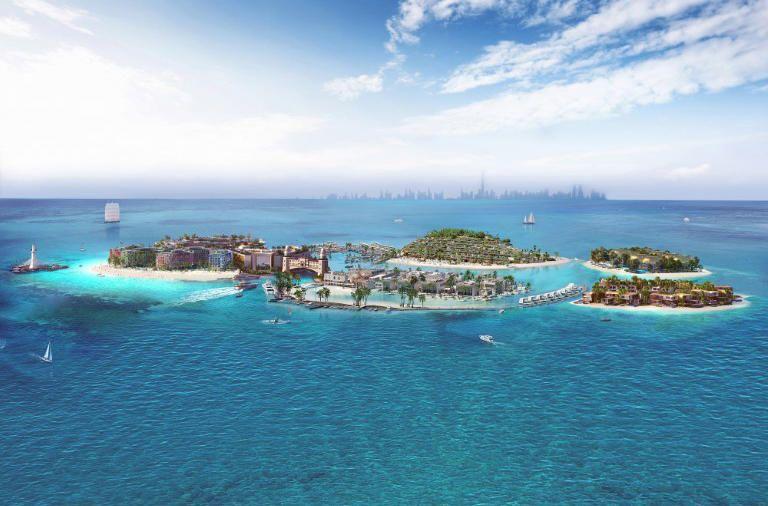 بيع 85 % من وحدات المرحلة الأولى في مشروع جزر «ذا هارت أوف يوروب» بدبي