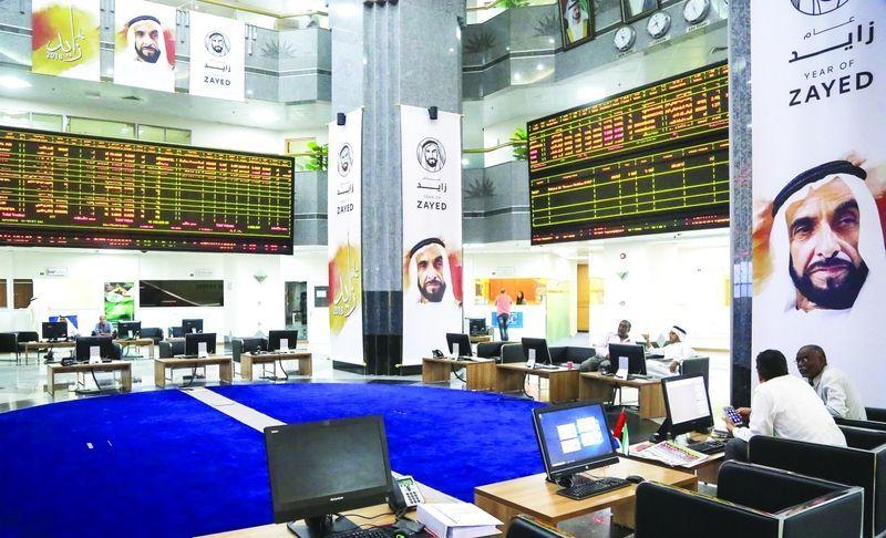 سوق دبي يقود تعاملات بورصات الخليج وسهم بنك الرياض يقفز