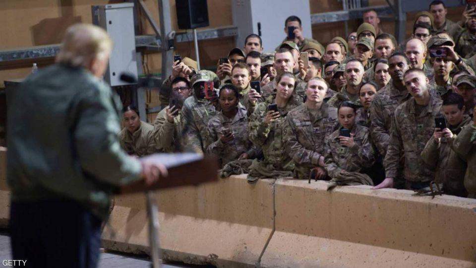 ترامب في العراق