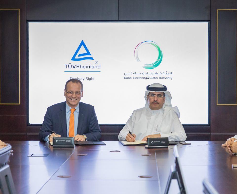 شراكة بين كهرباء دبي وشركة ألمانية لتطوير قطاع الطاقة