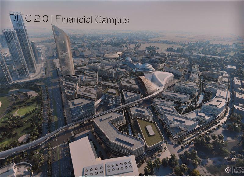 محمد بن راشد يعتمد خطة توسعة مركز دبي المالي العالمي