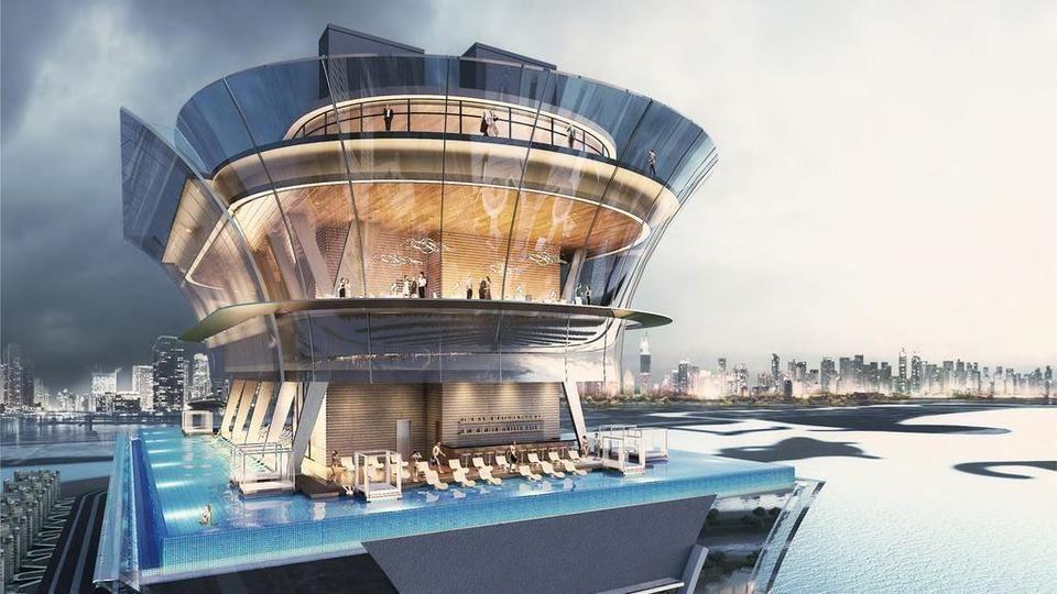 دبي: نخيل العقارية تبدأ بناء «إفينيتي» أحد أعلى أحواض السباحة في العالم