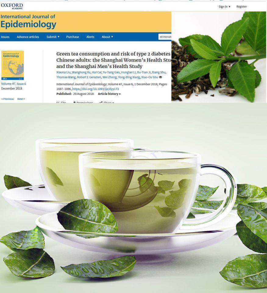 الشاي الأخضر  يزيد خطر الإصابة بمرض السكري