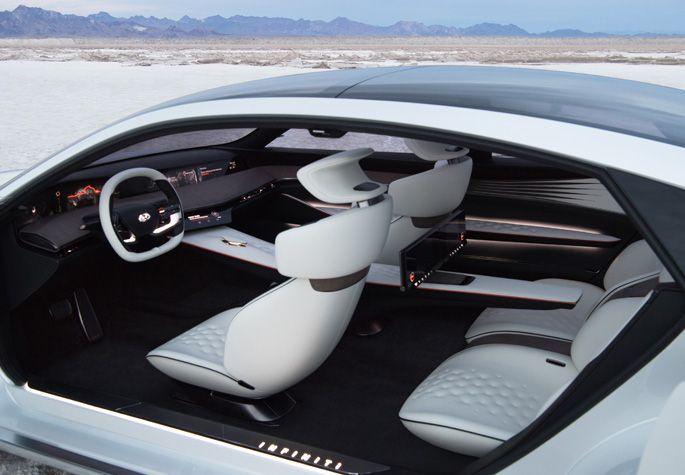 شاهد شاهد سيارة إنفينيتي كيو إكس انسبريشن الكهربائية