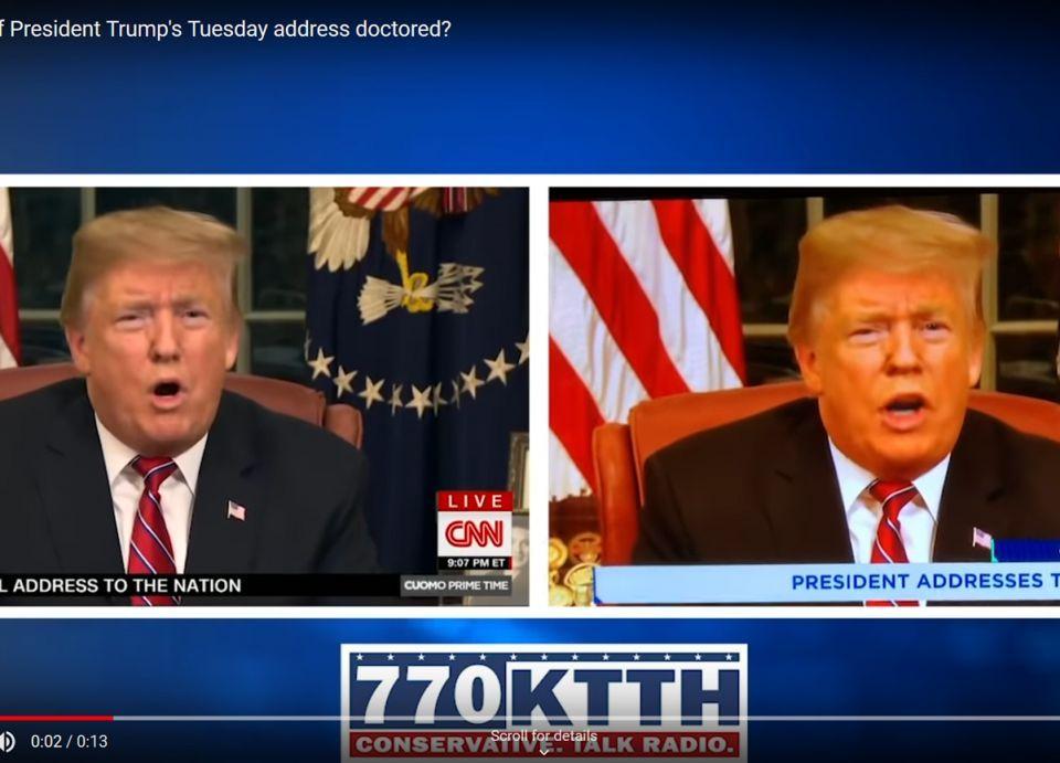 لقطات مزيفة للرئيس الأمريكي ترامب تتسبب بفصل مذيع قناة فوكس