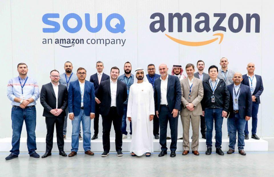 محمد بن راشد في مركز شحن لـ سوق دوت كوم: الإمارات مركز جذب للشركات العالمية