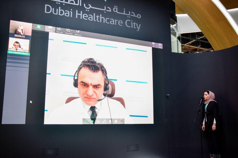 مدينة دبي الطبية توفر منصة لخدمات الرعاية الصحية عن بعد