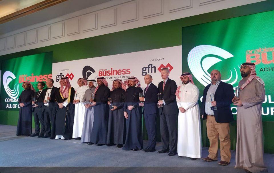توزيع جوائز أريبيان بزنس السعودية لتكريم أصحاب الإنجازات