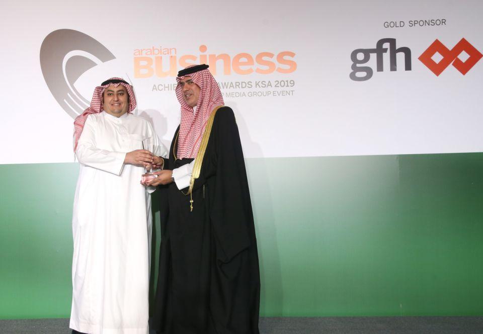 بالصور: تكريم أصحاب الإنجازات السعودية في حفل جوائز مجلة أريبيان بزنس